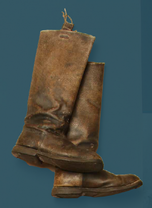 Men's boots – pegged construction. Second quarter of the 20th century.