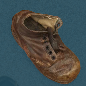 Laced boots. Second quarter of the 20th century.