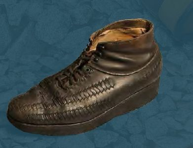 Laced boots. Third quarter of the 20th century.