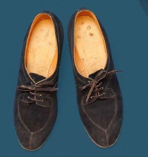 Women's sewn shoes. Second quarter of the 20th century.