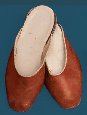 Slippers. Last quarter of the 20th century.