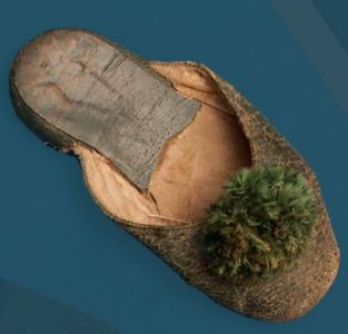 Slippers. Third quarter of the 20th century.